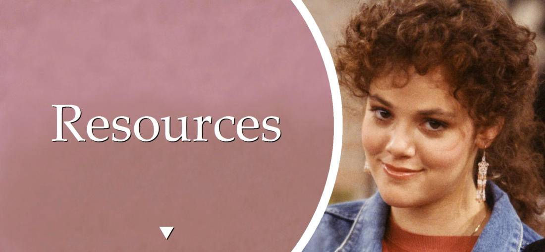 In Memoriam - Rebecca Schaeffer (Resources)