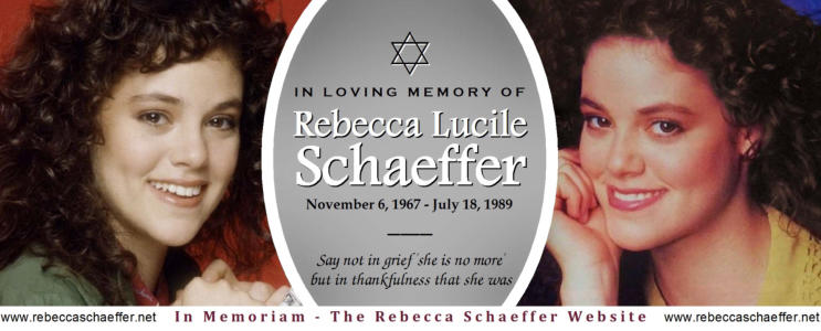 In memory of Rebecca Lucile Schaeffer - Facebook page